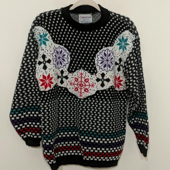 Custom Christmas Sweaters.Ugly Christmas Sweater Vintage Large